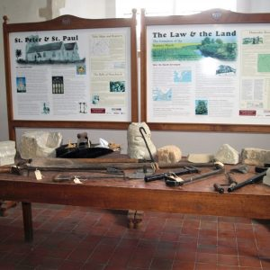 North chapel history display
