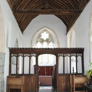 The south chapel screen