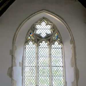 The south chapel east window