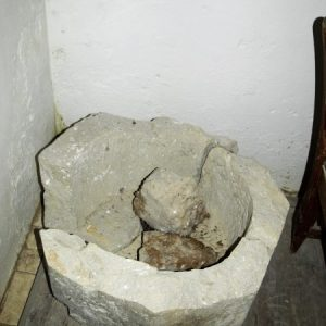 Part of medieval font