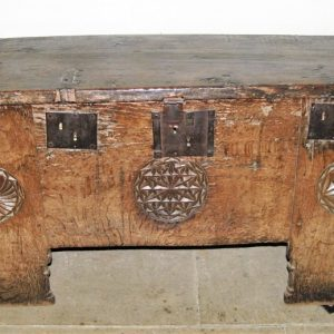 13th century oak chest