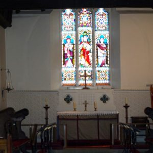 West Clandon church chancel