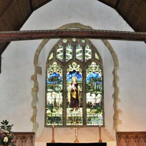 15th century east window