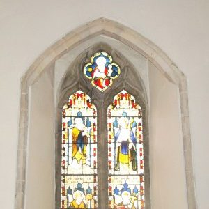 Chancel south window