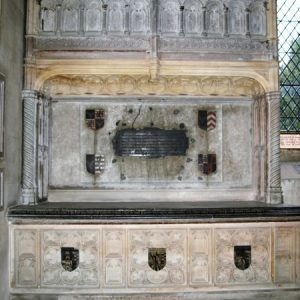 Sir William Sidney tomb chest