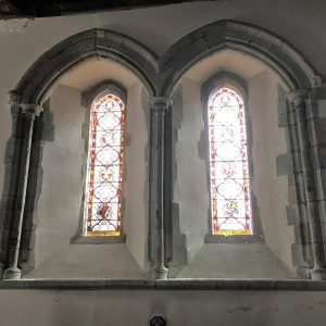 Twin Early English window