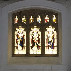 South aisle 3-light window