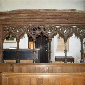 13th/14th century parclose screen