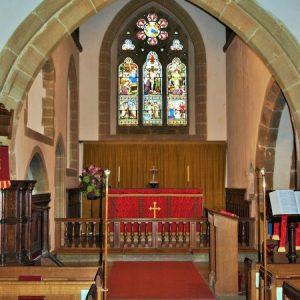 13th century chancel arch