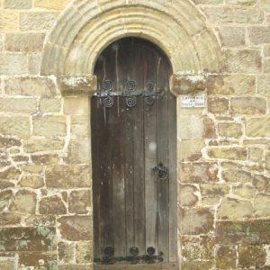 The Saxon north doorway