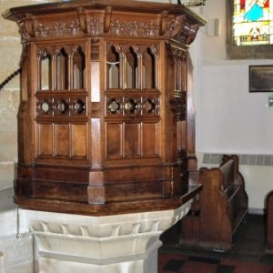 19th century pulpit