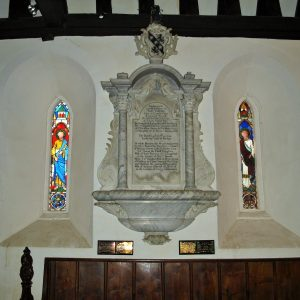Robert Cowper wall monument