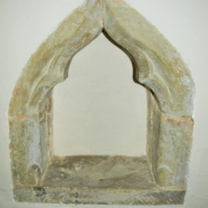 15th century piscina