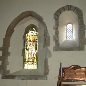 Norman and 13th century windows