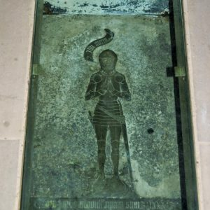 15th century floor brass
