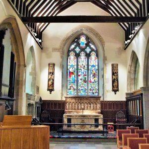 The 13th century chancel