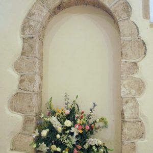 Norman doorway from inside