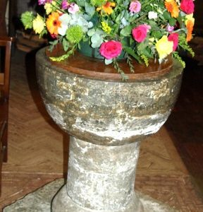The late 13th century font