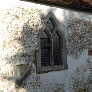 The south wall with squint