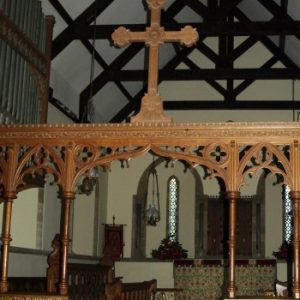 Rood screen and Rood