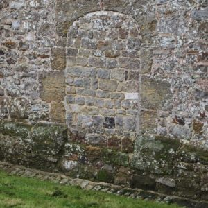 Blocked west doorway