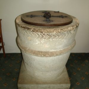 The original Saxon font
