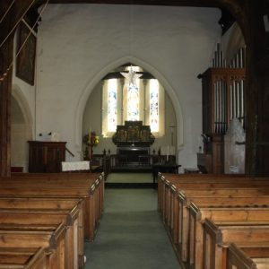 Saxon nave and chancel