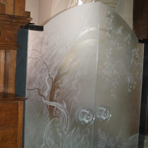 Tree of Life vestry screen