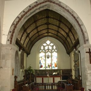 View from the crossing towards the chancel