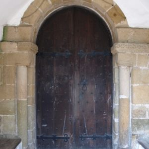 The south doorway
