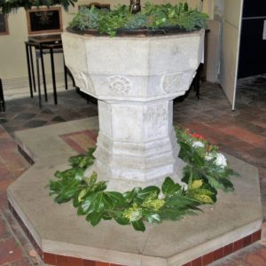 The octagonal font