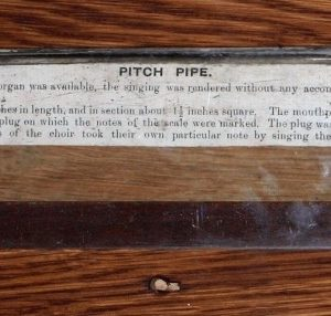 A pitch pipe