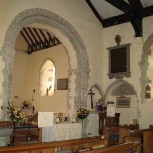 South-east nave and chancel