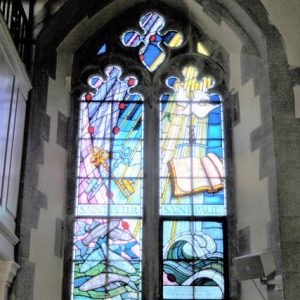 North aisle 2-light window