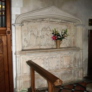Richard Sackville niche tomb