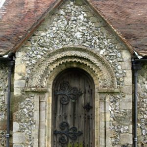 The 12th century doorway