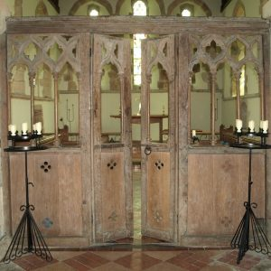 14th century rood screen