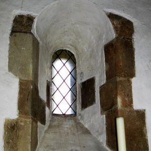The Norman window from inside