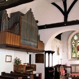 The wall mounted organ
