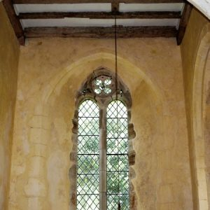 2-light window in north transept