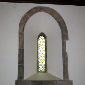 13th century lancet window