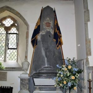 The Fuller memorial in the north aisle