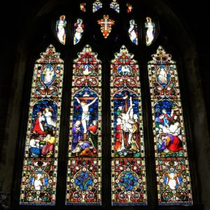 The chancel east window