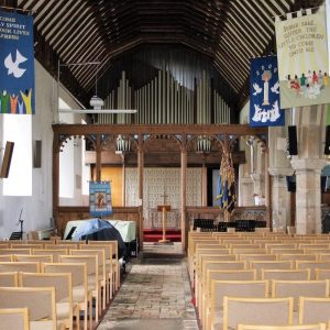 St Margaret's nave