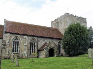 Shalfleet church