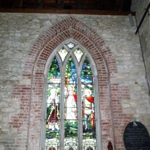 The war memorial window