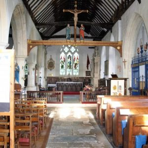 The south nave and chancel