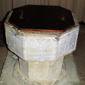 The 13th century octagonal font