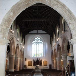 The nave viewed from the crossing