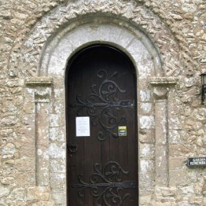 The Norman south doorway